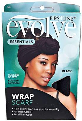 Evolve Wrap Scarf Black