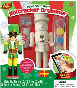 Masterpieces Puzzle Works of Ahhh Nutcracker Drummer Wood Painting Kit