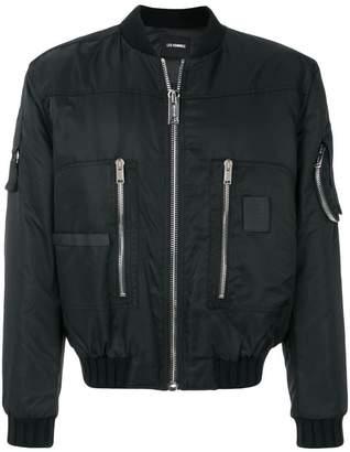 Les Hommes zipped bomber jacket