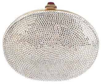 Judith Leiber Crystal-Embellished Minaudière $795 thestylecure.com