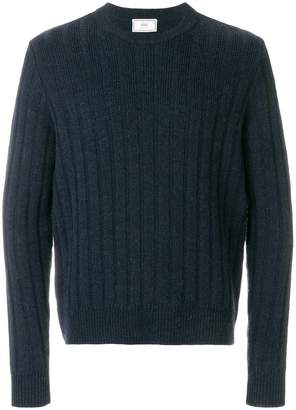 Ami Alexandre Mattiussi Flat Ribbed Crewneck Sweater