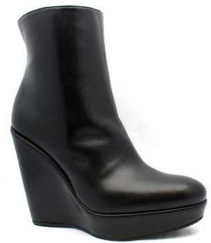 "Stuart Weitzman Invent"" Black Leather Boots"