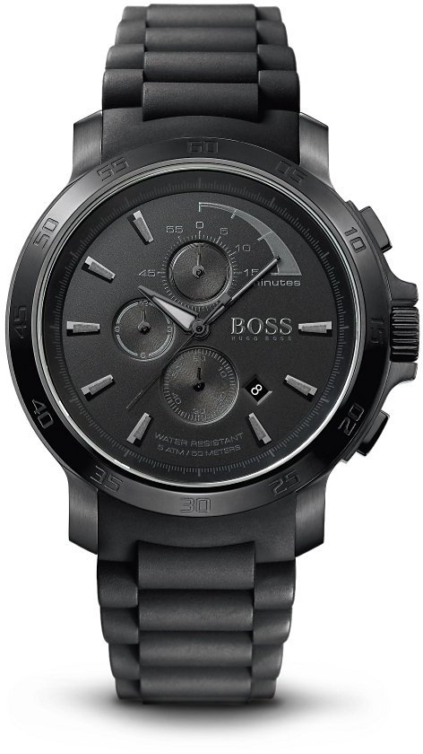 HUGO BOSS '1512393' | Chronograph Silicon Strap Watch by BOSS