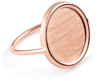 ginette_ny Rose Gold Disc Ring