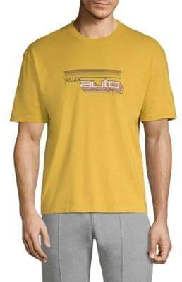 Bally Auto Cotton Jersey T-Shirt