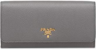Prada calf leather wallet