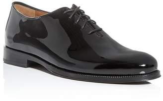 Cole Haan Men's Gramercy Patent Leather Plain-Toe Oxfords