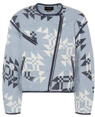 Isabel Marant Lazel quilted cotton jacket