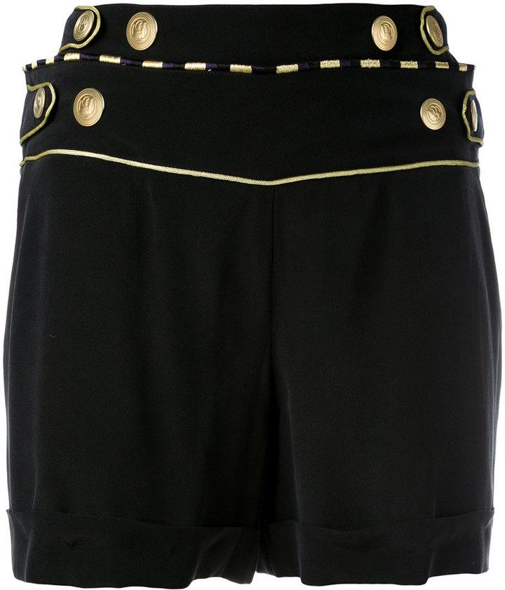 BalmainPierre Balmain buttoned waist shorts