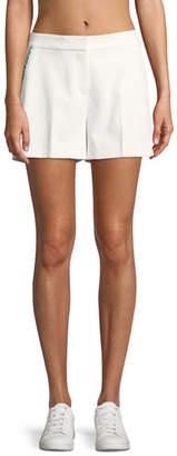 Tory Sport Tech Twill Ruffle Shorts
