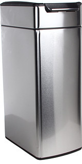 Simplehuman Slim Touch Bar Trash Can, Fingerprint-Proof, 40 Liters/10.5 Gallons