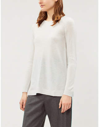 The White Company Round-neck cashmere-knit jumper