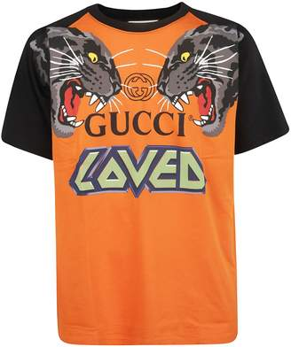 Gucci Oversized Printed T-shirt