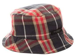 Burberry Boys' Reversible Bucket Hat