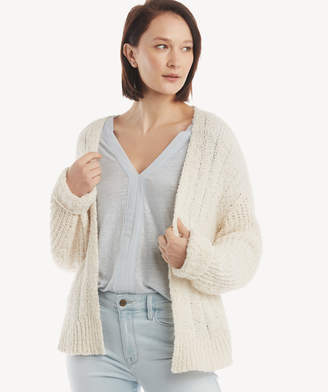 Sole Society L/S Pointelle Open Cardigan