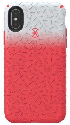 Speck Red\u002FGrey iPhone XS\u002FX Candyshell Case