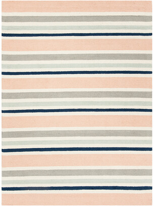 Safavieh Kids Multi Stripe Hand-Tufted Rug