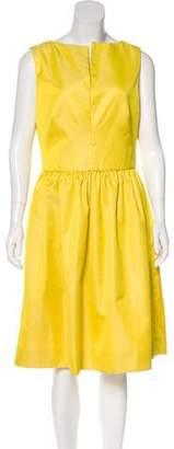 Lela Rose A-Line Midi Dress w/ Tags
