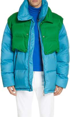 Calvin Klein Water Repellent Quilted Puffer Jacket