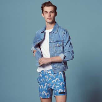 Sandro Palm tree print swimsuit