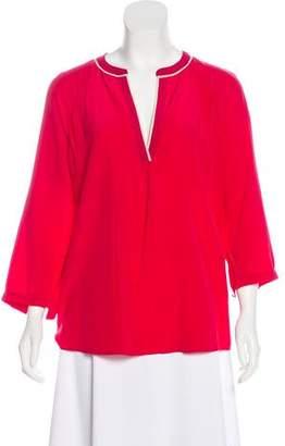 Joie Long Sleeve Silk Top