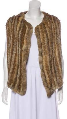 Joie Fur Open Front Vest