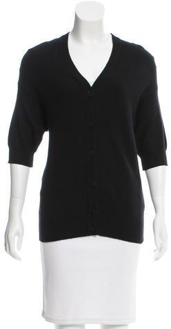 MarniMarni Short Sleeve Cashmere Cardigan