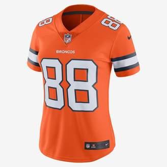 Nike NFL Denver Broncos Color Rush Limited (Demaryius Thomas) Women's Football Jersey