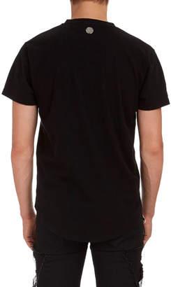 Balmain Deep V Cotton T-Shirt
