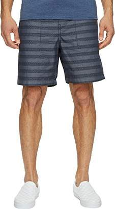 Original Penguin Men's 5 inch Elastic W/b with Printed Stripe Short
