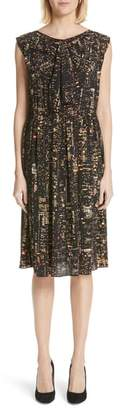 Marc Jacobs City Print Silk Dress