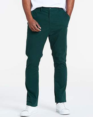 Marisota Forest Green Stretch Chinos 33in