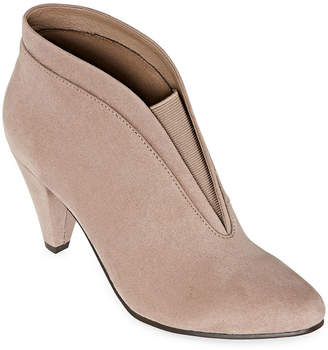 CL BY LAUNDRY CL by Laundry Womens Nurture Cone Heel Booties