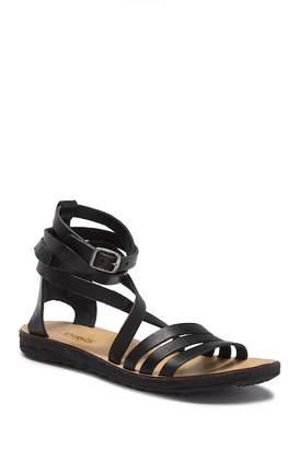 Khrio Ankle Strap Leather Sandal
