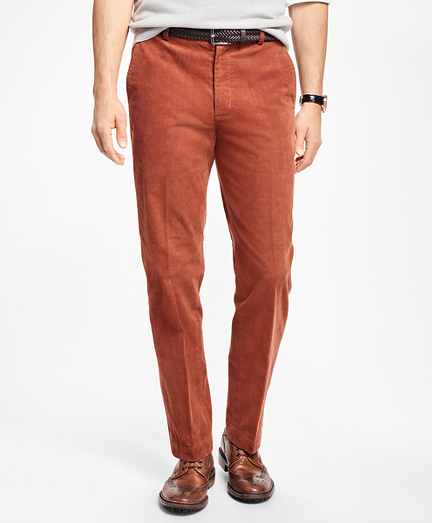 Mens Dark Brown Corduroy Pants - ShopStyle Australia