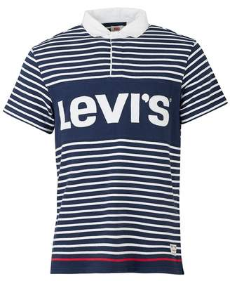 Levi's Striped Logo Rugby Shirt