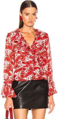 Rixo Roisin Top in Diana Floral | FWRD
