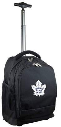 Denco Mojo Licensing Premium Wheeled Backpack - Toronto Maple Leafs