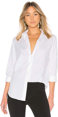 Theory Essential Button Down Top