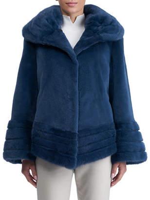 Gorski Sheared Mink Reversible Jacket