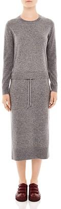 Sandro Marcel Midi Sweater Dress $470 thestylecure.com