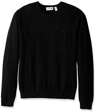Lacoste Men's 100% Cashmere Crewneck Sweater