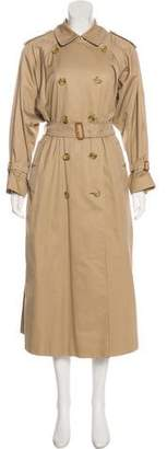 Burberry Vintage House Check-Lined Coat