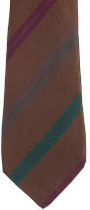 Salvatore Ferragamo Silk Striped Tie