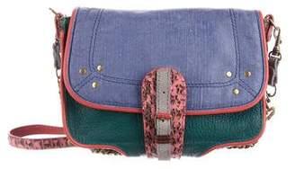 Jerome Dreyfuss Jojo Colorblock Leather Crossbody Bag