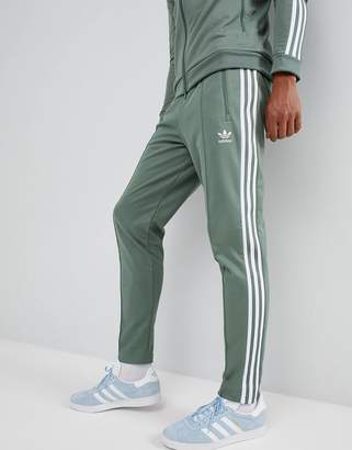 adidas Beckenbauer Joggers In Green Dh5818