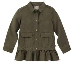 Kate Spade Girl's Twill Cotton Field Jacket
