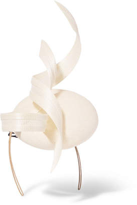 Philip Treacy Embellished Headpiece - Ivory