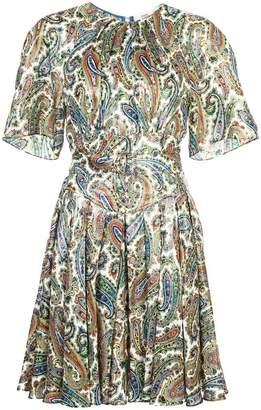 Diane von Furstenberg paisley print dress