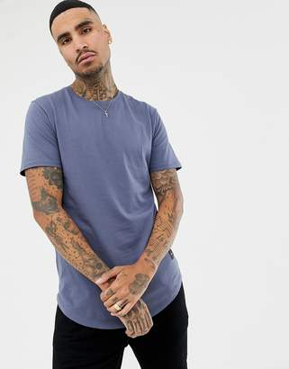 ONLY & SONS longline crew neck t-shirt
